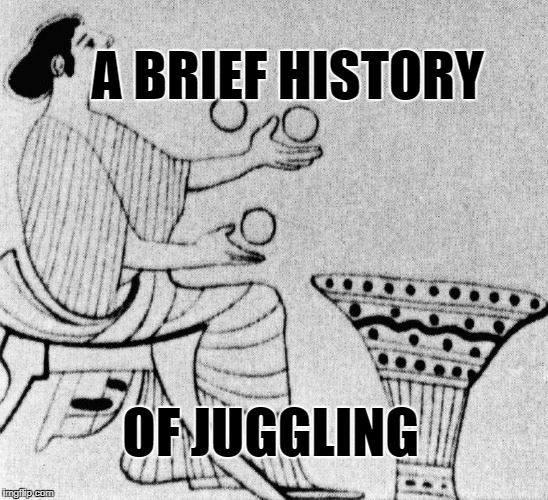 history of juggling