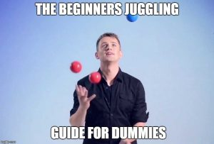 beginners juggling guide
